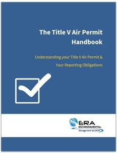 Title V Air Permit Handbook.